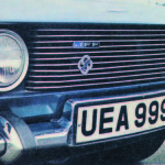 The new Ferguson Formula chrome & enamel badge mounted to the front grille under the 'JFF' badge.