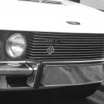The new 'JFF II' chrome & enamel front grille badge, fitted to all MK.II FF cars.