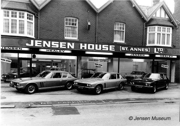 Jensen House (St.Annes) LTD | Jensen Museum