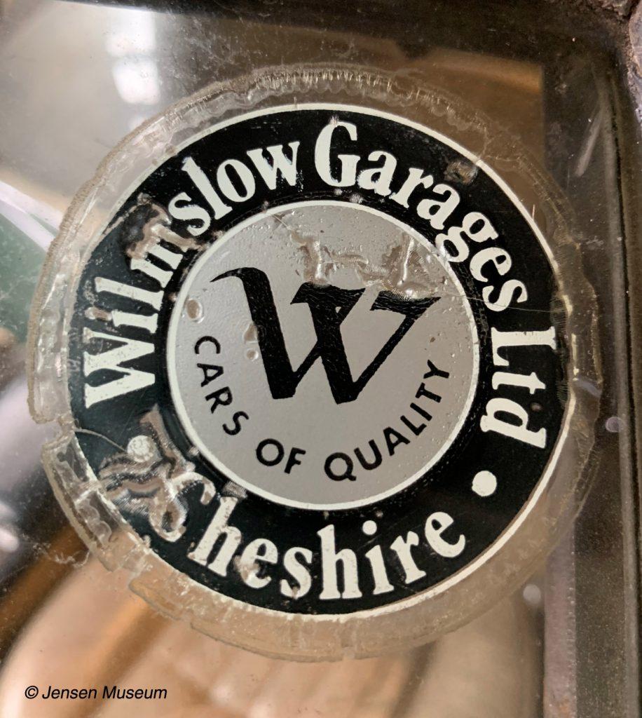 Wilmslow Garages   Jensen Distributors