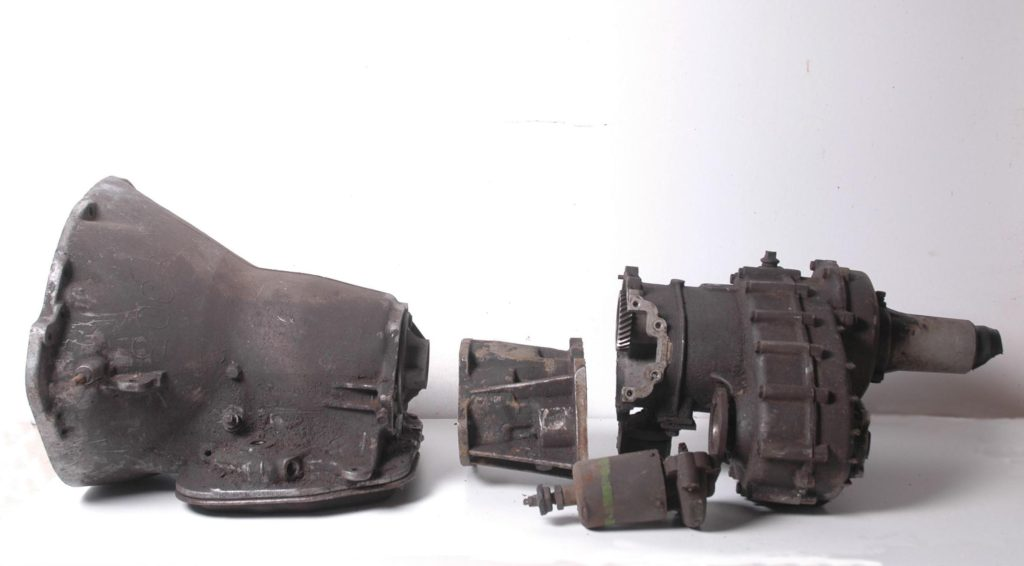 The T119-005 / 102-005 unit as found in its disassembled state.