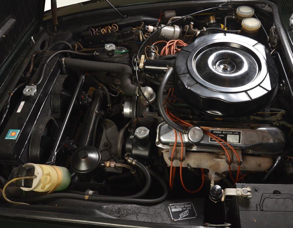 Jensen Museum | FF MK I Engine-Bay