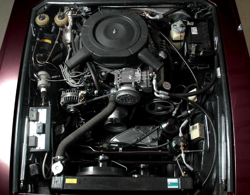 Jensen Museum | FF MK II Engine-Bay