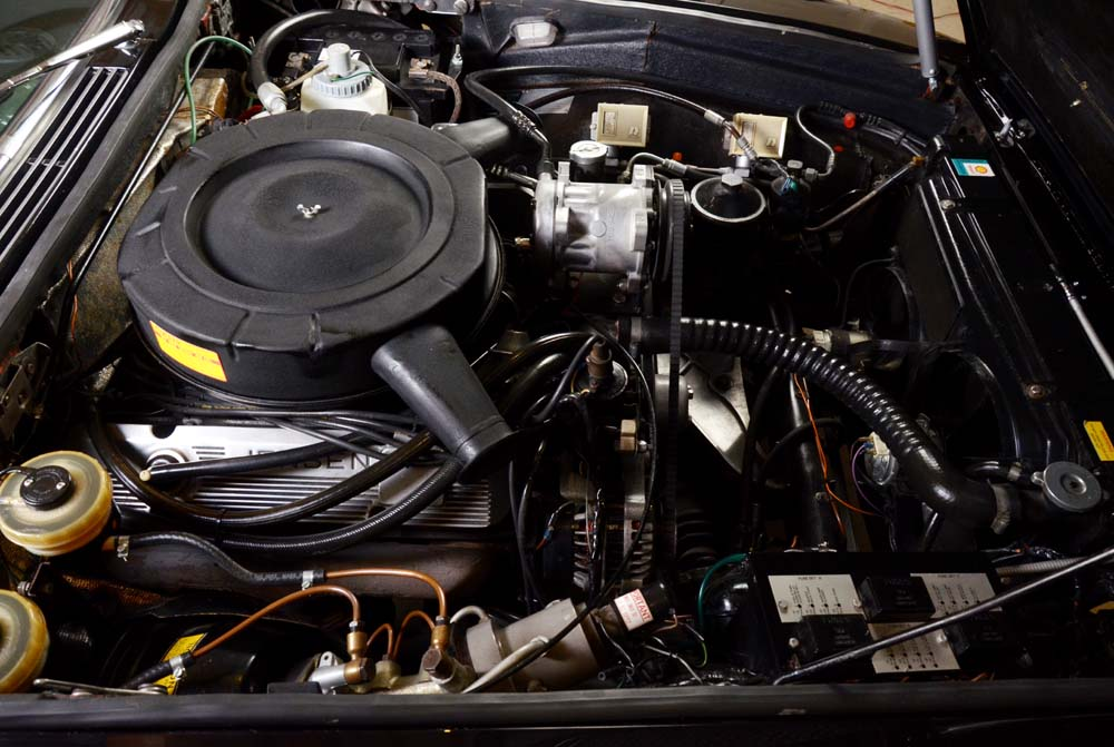 Jensen Museum | FF MK III Engine-Bay