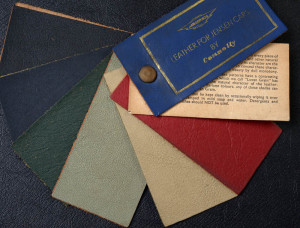 Jensen Museum | Connolly Leather Samples