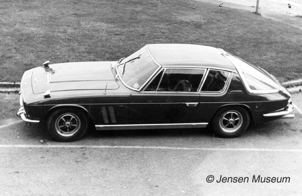 Jensen FF Chassis 119/117 | Press Car