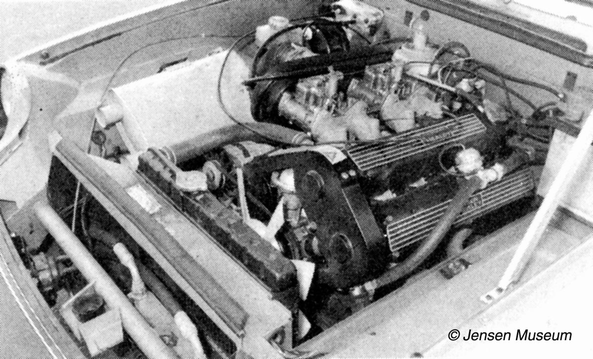 Jensen Healey Engine-Bay | Jensen Museum