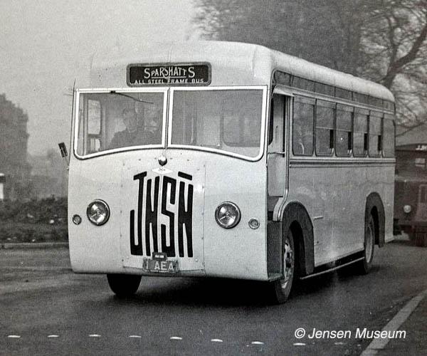 Jensen Light Passenger Coach | 1948 - 1951