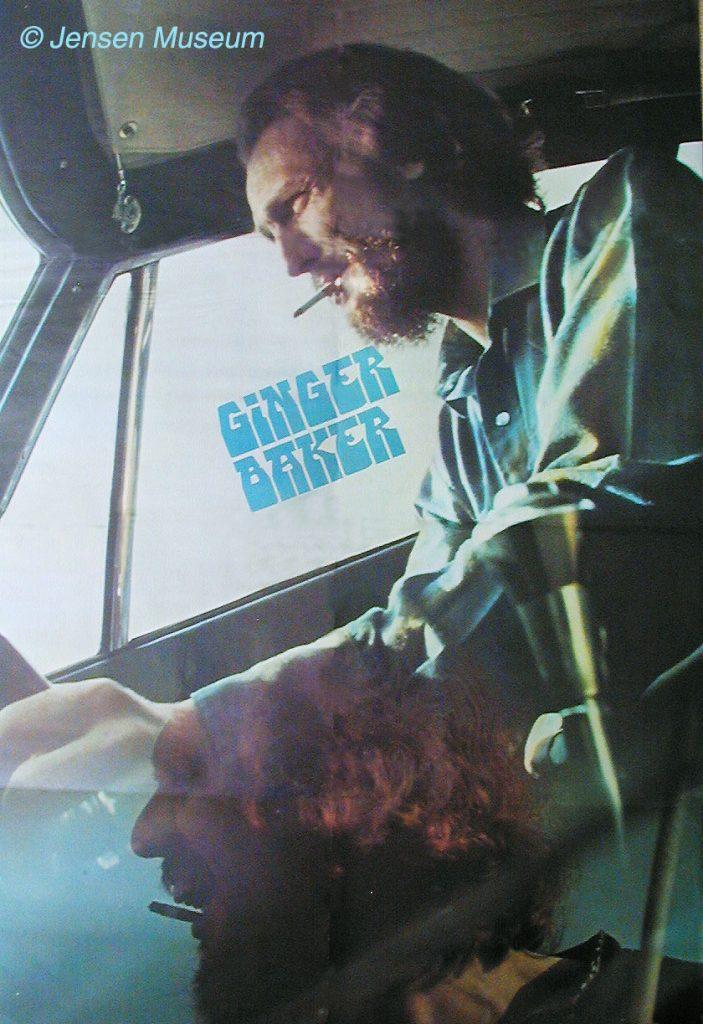 Ginger Baker's Wild Jensen Days
