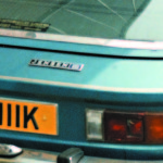 A new rear badge was created for the MK.III FF, using an Interceptor III badge with a blue panel instead of red.