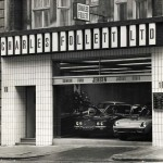 Charles follett showrooms in Mayfair, photographed in 1972.