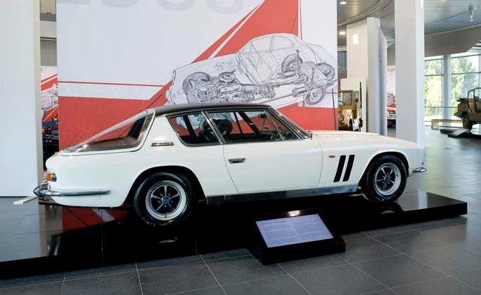 Jensen FF displayed at the Audi Museum