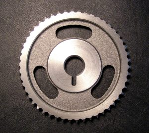 The all metal timing sprocket.