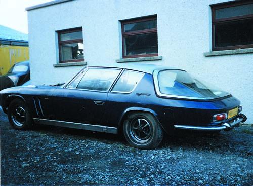 Jensen Museum | Porsche Jensen FF