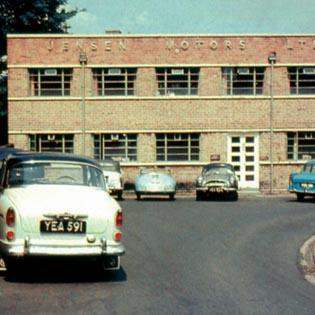 Jensen Motors | Carter's Green Factory