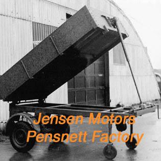 Pensnett Factory | Jensen Motors