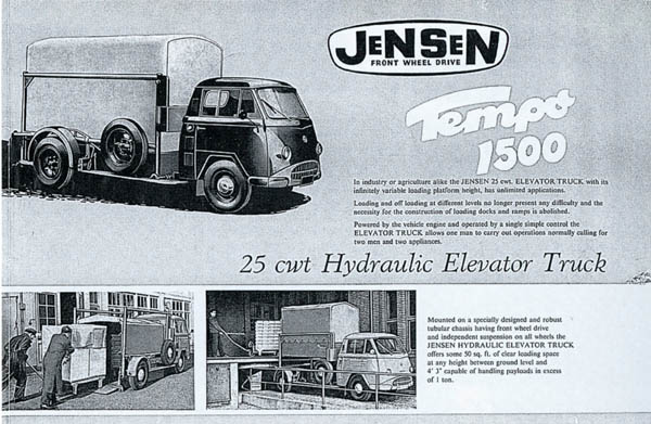 Jensen Tempo | Jensen Museum