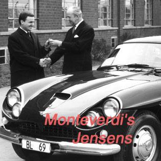 Peter Monteverdi | Monteverdi, Ferrari, Jensen Triangle