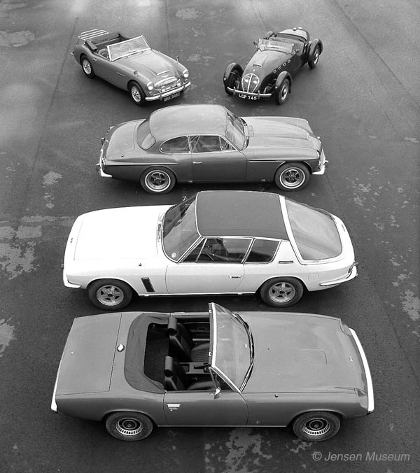 The Story Behind The Jensen Healey Stories