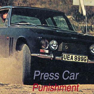 Jensen FF Chassis 119/117   Press Car