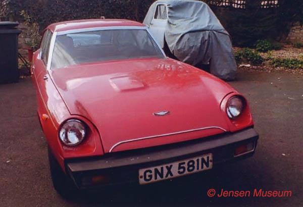 Jensen GT Prototype | GNX 581N