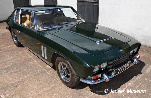 Kastner's Jensen FF | Chassis Number 119/051