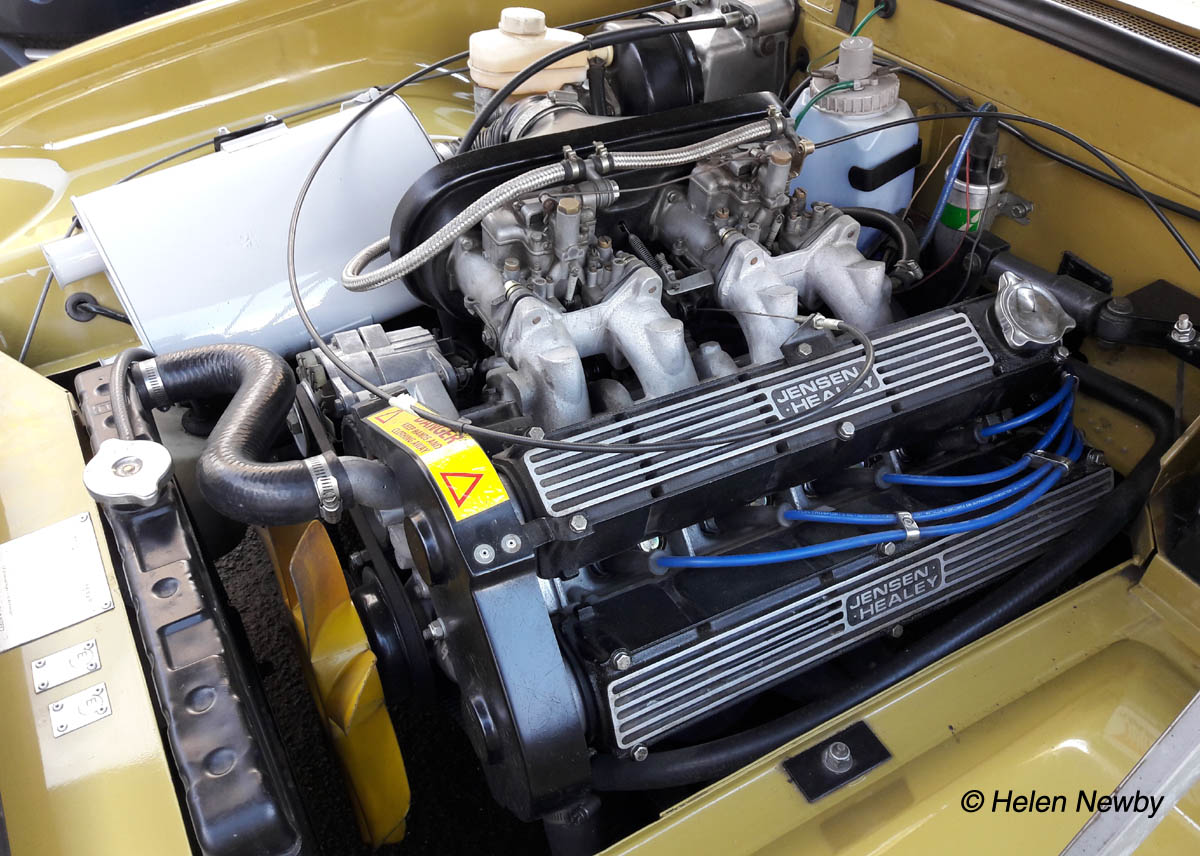 Jensen Healey Engine-Bay