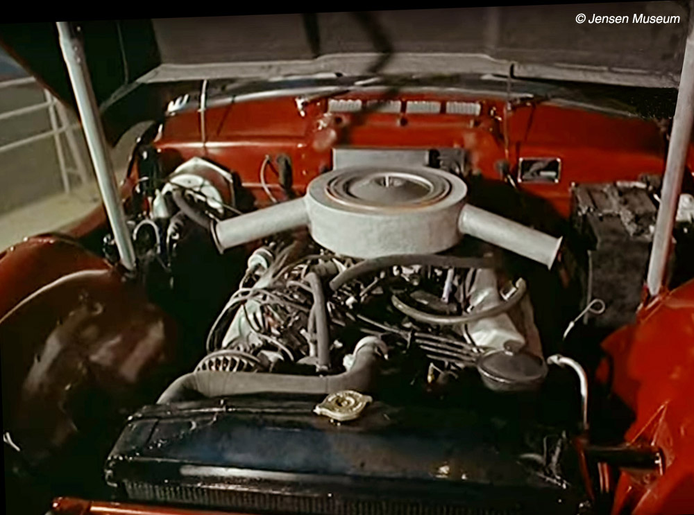 Jensen CV8 Engine-Bay | Jensen Museum