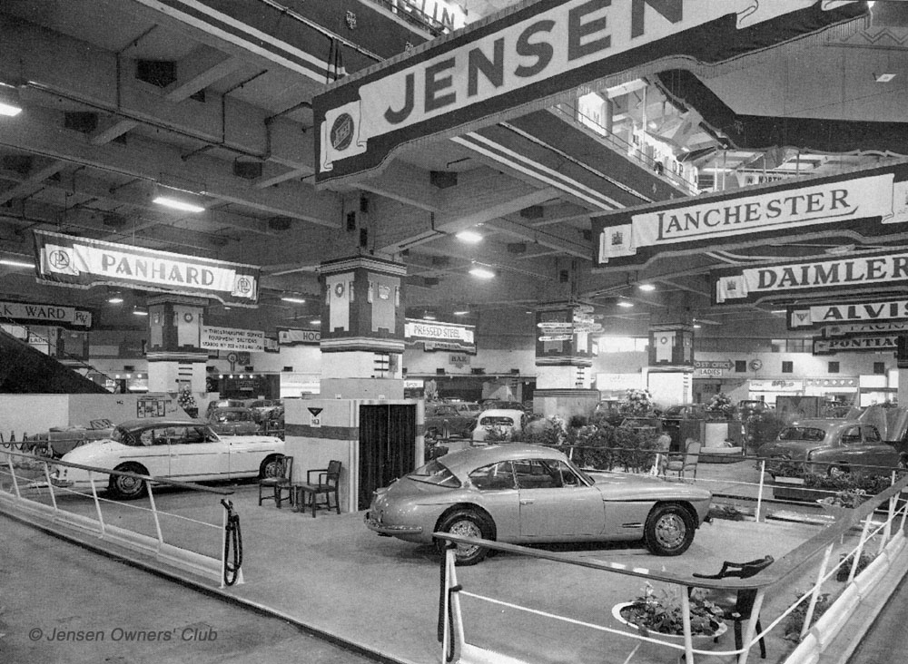 Jensen Interceptor Deluxe | 1954 London Motor Show Car