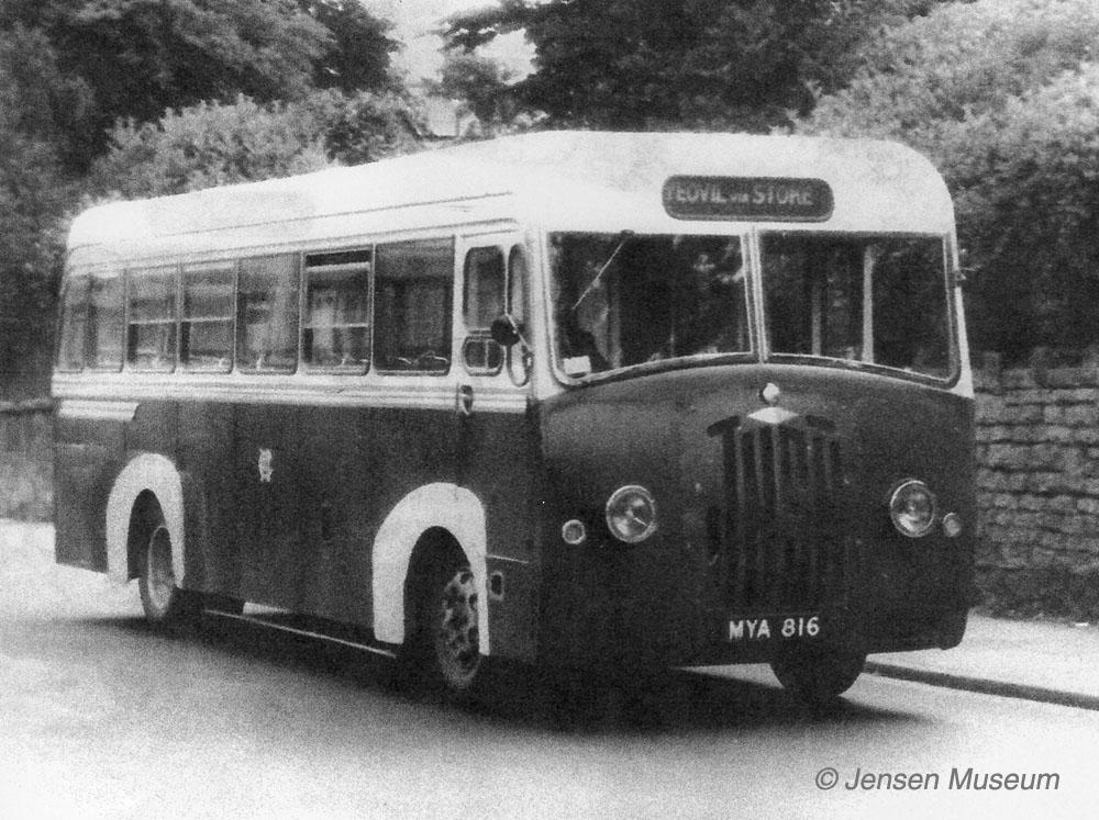 Jensen Light Passenger Coach   1948 - 1951