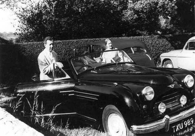 Benjamin Britten's Jensen | Interceptor Chassis Number 84