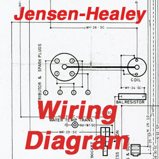 Jensen-Healey Wiring Diagram