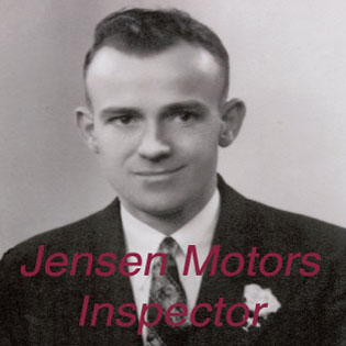 Jensen Motors Inspector | Life & Times