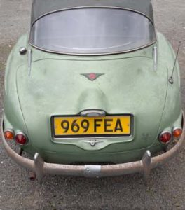 Jensen 541S   Chassis Number 100/1090