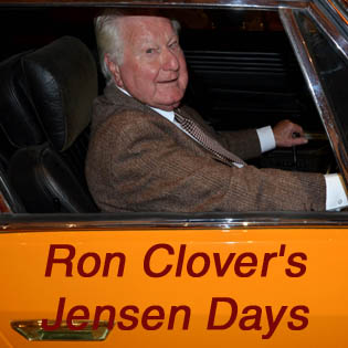Ron Clover's Jensen Days
