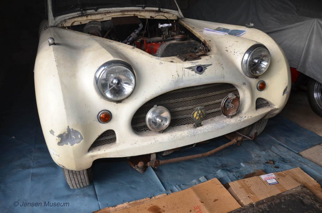 1954 Jensen Interceptor | Front Body Removal