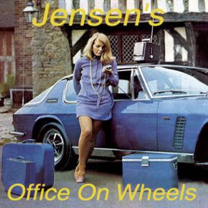 Jensen's Office On Wheels | The Director Model
