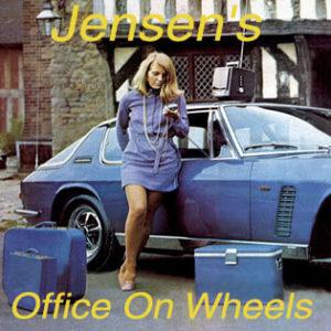 Jensen's Office On Wheels | The Director Model