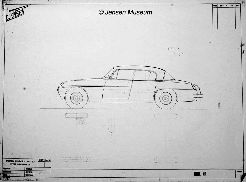Jensen CV8 | From Drawing Board To Reality