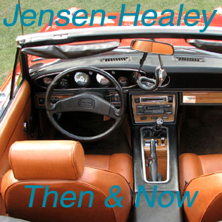 Jensen Healey 15 036 | Then & Now