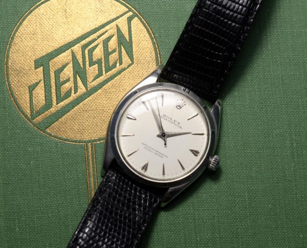 ROLEX OYSTER 1955 PERPETUAL CHRONOMETER - £2250