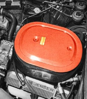 Jensen SP Engine-Bay