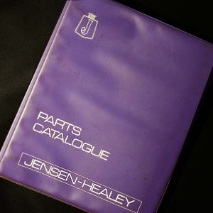 JENSEN HEALEY PARTS CATALOGUE