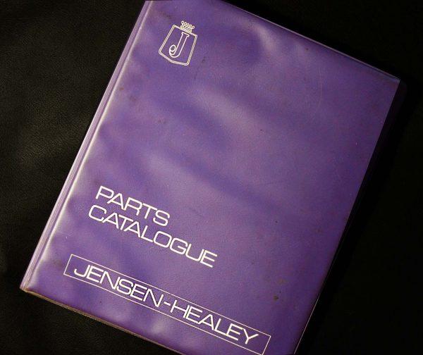 JENSEN HEALEY PARTS CATALOGUE