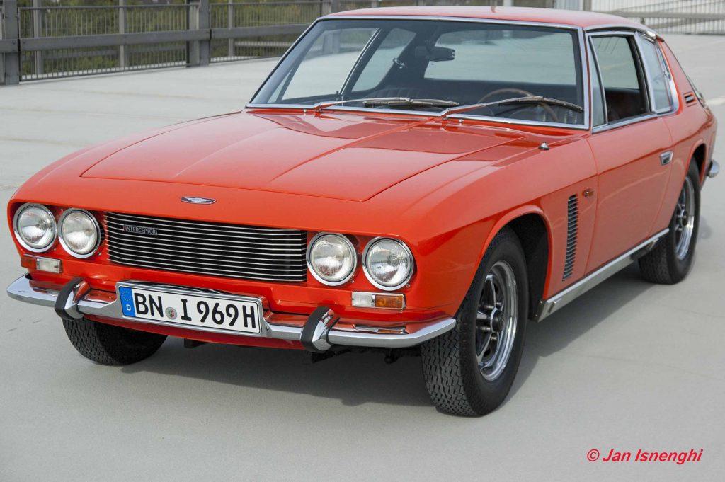 Jensen Interceptor | 1969 Geneva Motor Show Press Car