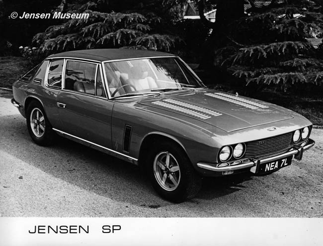 Jensen SP | The Inside Story