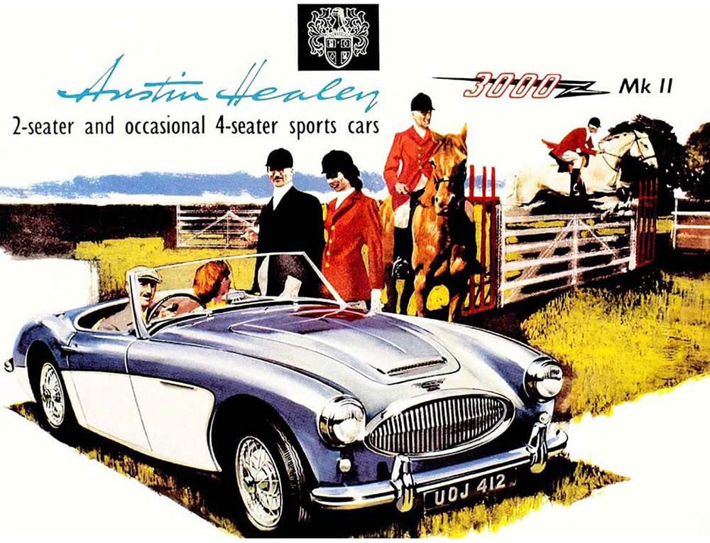 Austin Healey - Jensen Motors Contract